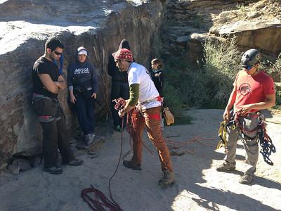 Rappel Arizona Canyoneering Class