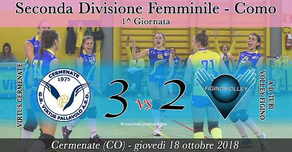 CO-2Df: 1^ Virtus Cermenate - Figino Volley