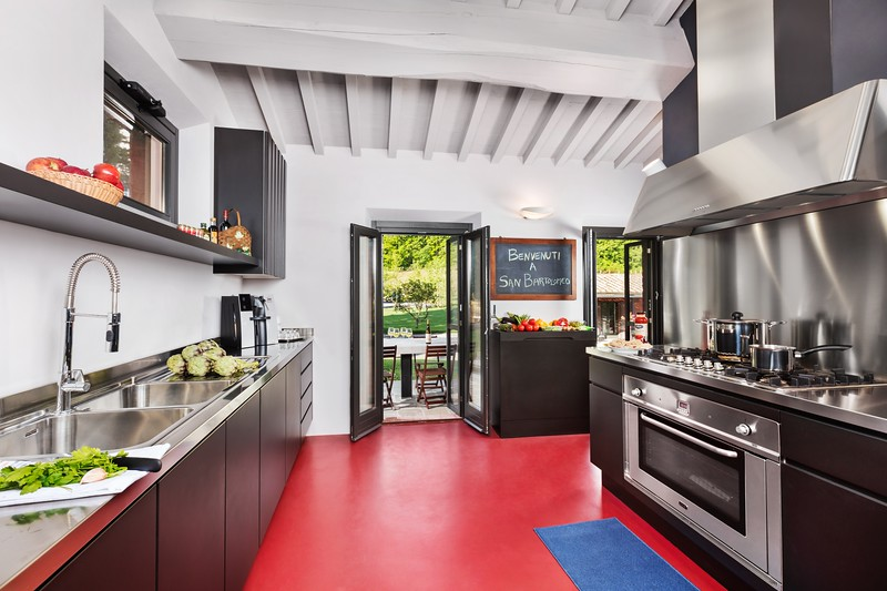 Kitchen, San Bartolomeo; Tuscany, Italy