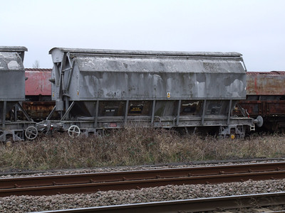 PBA - 2 Axle Covered Limestone Hopper Wagon