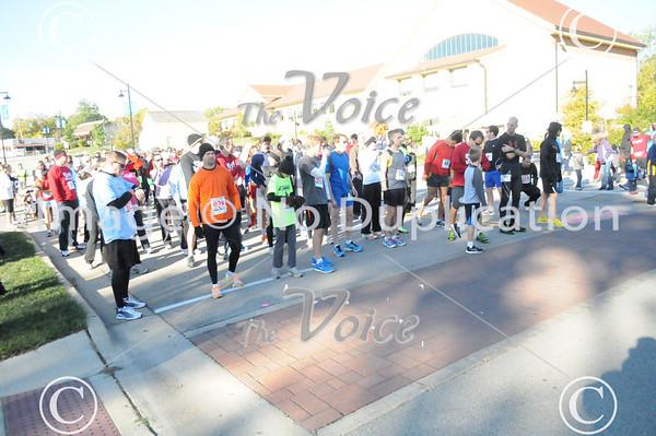 Montgomery, IL 9th Annual 5K Run & 3K walk 10-6-12