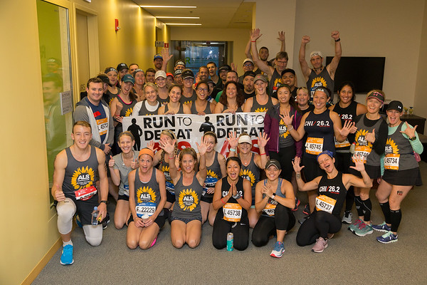 Chicago Marathon 2018 - TeamALS