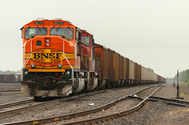 Burlington Northern Sante Fe 8270 (EMD SD75M) - Superior, WI