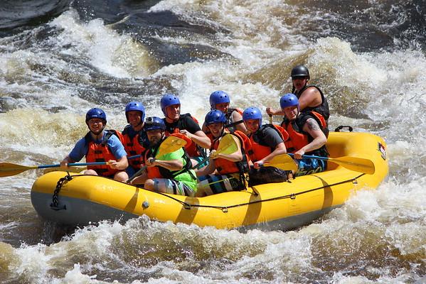 2015 David White Water Rafting