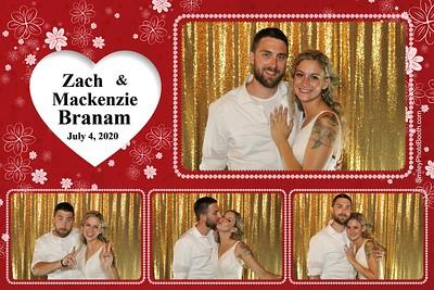Zach & Mackenzie Branam