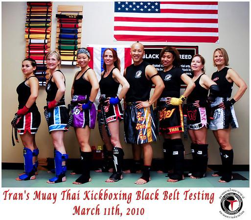 Kohai Black Belt Testing - 3/12/2010