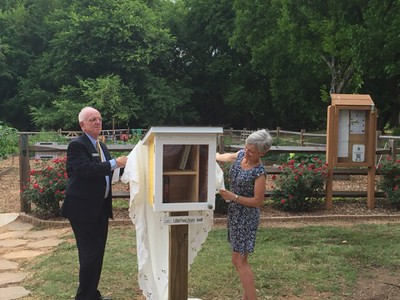Little Free Library Dedication Ceremony