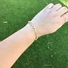 Vintage French Ruby & Diamond Serpent Bracelet 14