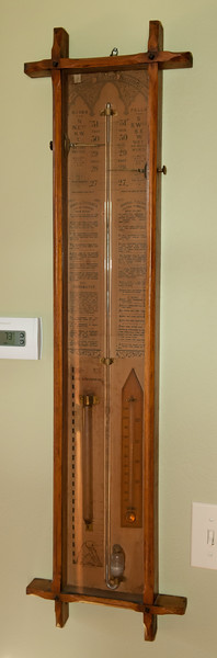 Admiral Fitzroy's Barometer