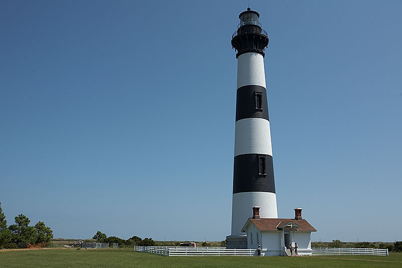 The lighthouse at Bodie Island, NC.