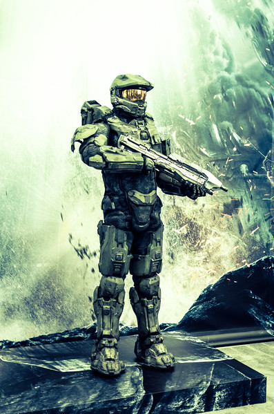 Master Chief at E3 2012