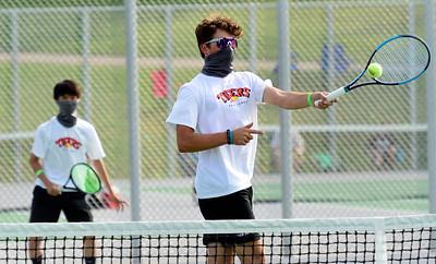 Photos: Region 5 4A Boys Tennis at Niwot