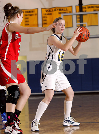 2012 Bucktail Girls Basketball @ Northern Potter