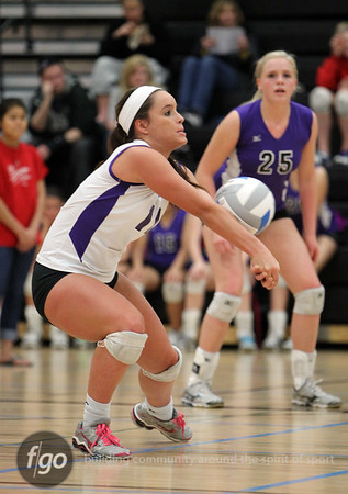 Minneapolis Southwest v St. Paul Central Volleyball 10-26-10