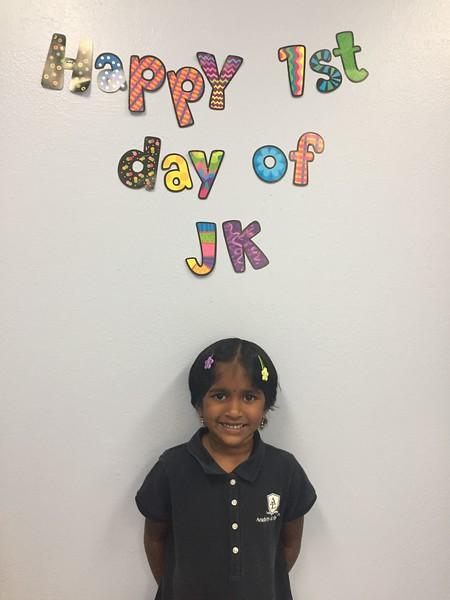 JK Class Activities 2017-18