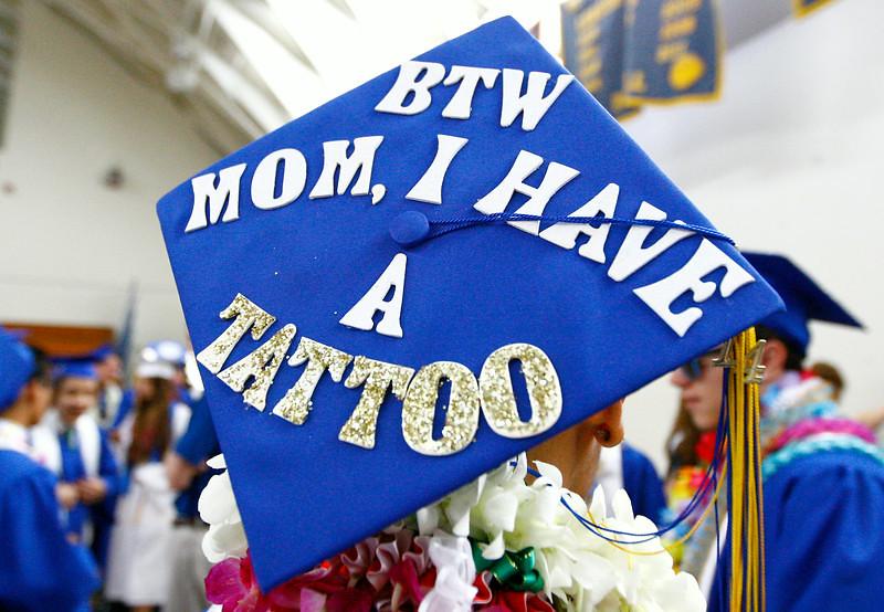 ". \""El Segundo High graduation ceremony at El Segundo High School on Thursday, June 12, 2014 in El Segundo, Calif.  (Michael Yanow / For the Daily Breeze)\"""