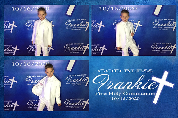 Frankie's First Holy Communion 10/16/2020