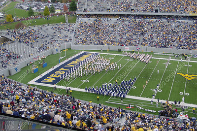 WVU vs Boston College - Halftime Formations