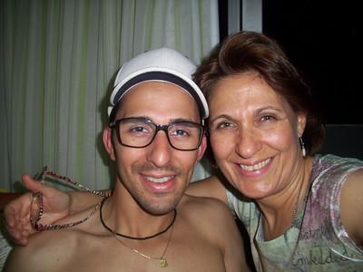 Leandro no Brasil fev/14