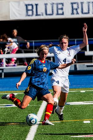 Women's Soccer - Queen's at Toronto 20131012