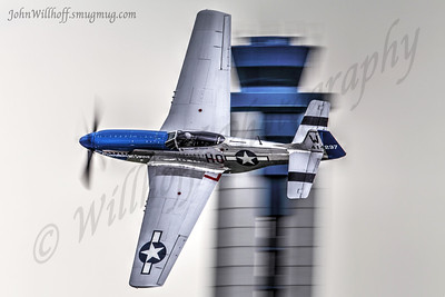 North American P-51 Mustangs