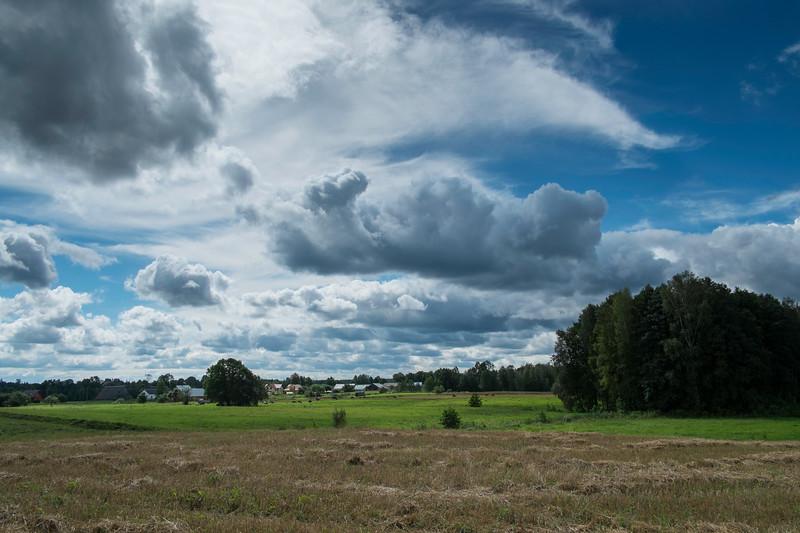 Rural view, Giby, Suwalskie Region, Poland