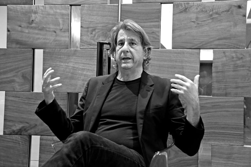 David Rockwell AVENUE MAGAZINE Presents the SALON DINNER & CONVERSATION with Architect and Designer DAVID ROCKWELL  10 Hudson Yards NYC, USA - 2017.10.17 Credit: Lukas Maverick Greyson