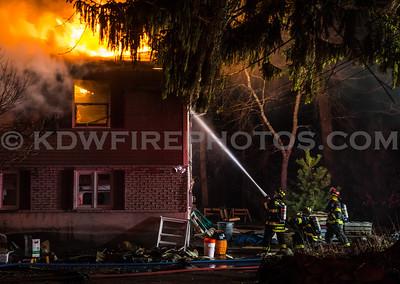 Tewksbury, MA 2nd Alarm - 2 Woodland Dr - 3/29/17