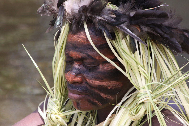 Yokoim tribesman