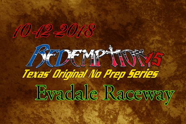 10-12-2018 Evadale Raceway 'Redemption 15'