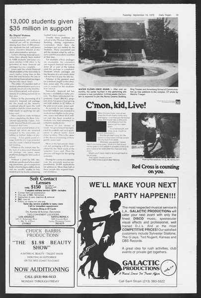 Daily Trojan, Vol. 75, No. 2, September 19, 1978