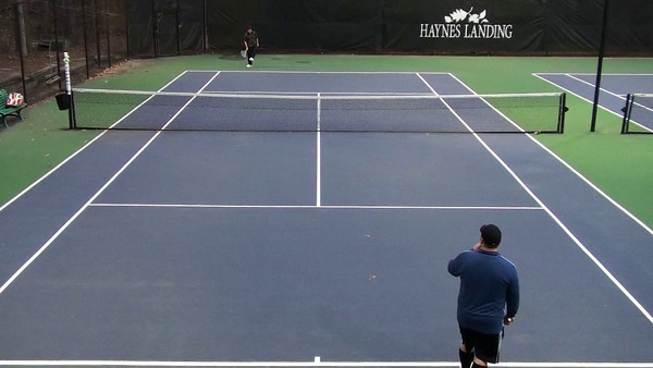 Tennis with Marcus
