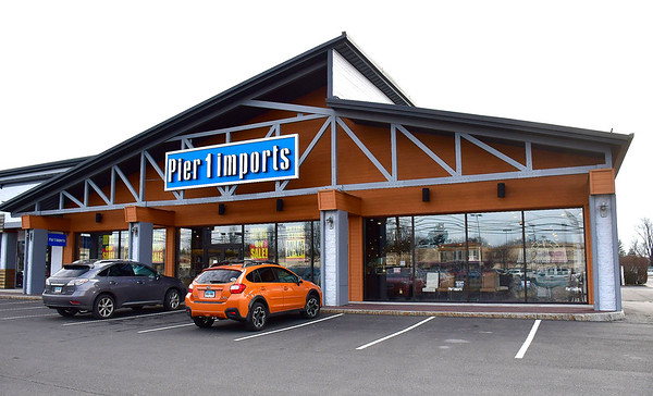 1/7/2020 Mike Orazzi | Staff Pier 1 Imports on Route 6 in Bristol.