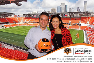 April 30, 2019 - MD Anderson GAP 2019 Welcome Celebration