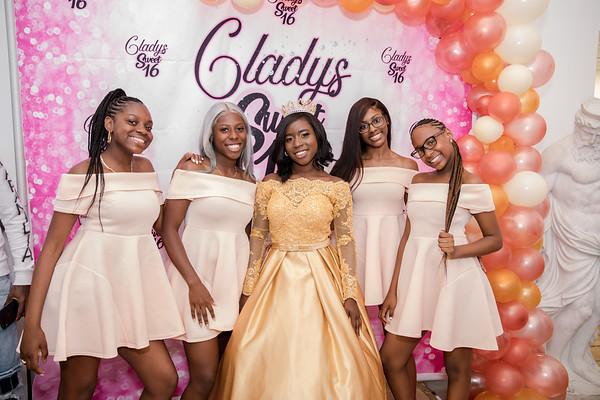Gladys' Sweet 16