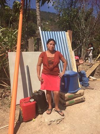 Lomas Arriba, San Jacinto Latrine Project