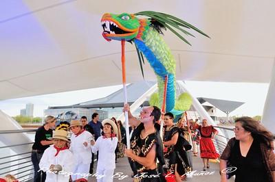 2015-04-26 El Puente Theatre Festival & Mask Procession