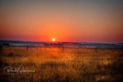 Sunrise at A & M Farm  2018
