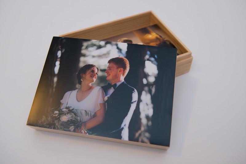 Wooden Print Box