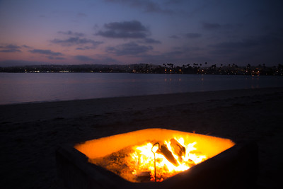Fiesta Island Bonfire