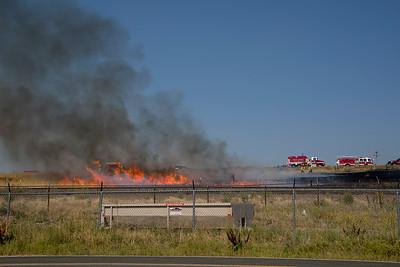 Highway 85 Brush Fire