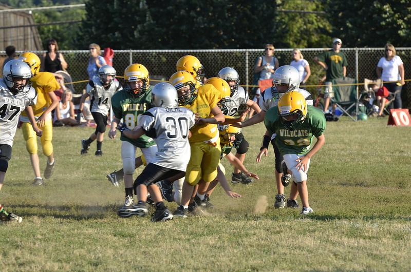 Wildcats vs Raiders Scrimmage 097.JPG