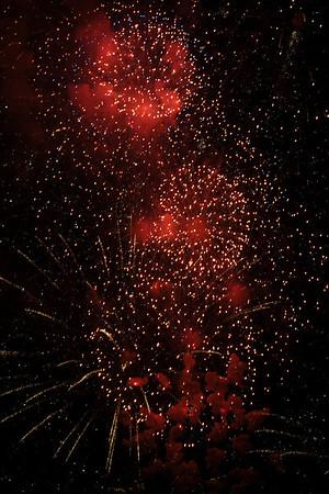 Gasworks Park Fireworks 2013