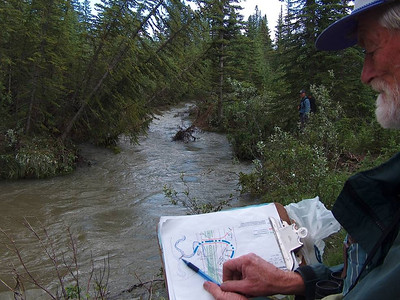 2006 Elbow River cutting new channel