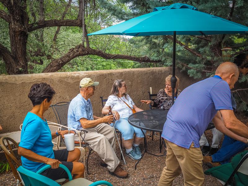 Fosler Cousins at Rancho de Chimayo