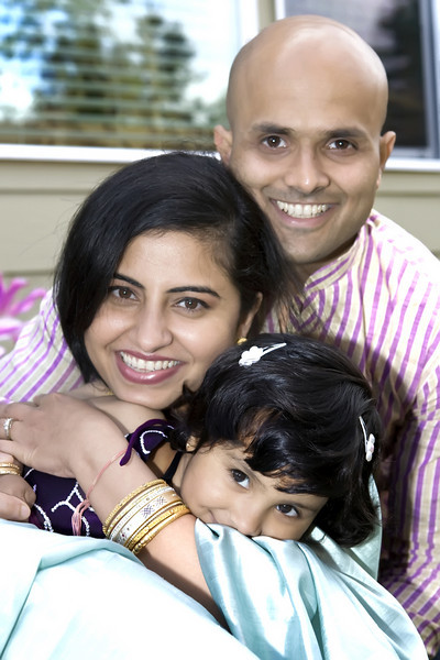 Abhi & Mini Family portraits