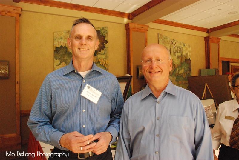 Andrew Korniej and Chuck Yenson
