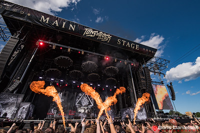 Behemoth @ Tons Of Rock Festival 2019.