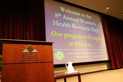 2007 Women's Health Research Day - W Talks