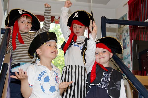 groep 3a: thema piraten in de klas